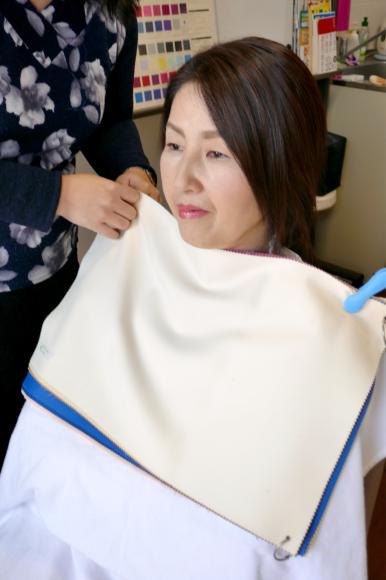 広島から母娘でパーソナルカラー診断に♫_d0116430_01254524.jpg