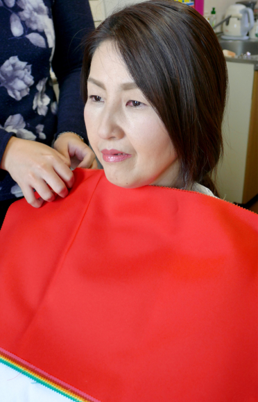 広島から母娘でパーソナルカラー診断に♫_d0116430_01254638.jpg