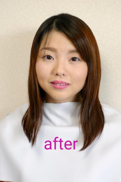 広島から母娘でパーソナルカラー診断に♫_d0116430_01273645.jpg