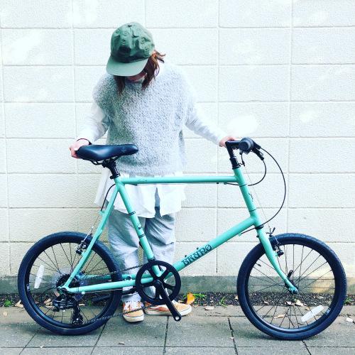BRUNO 2020モデル 『 MINIVELO 20 FLAT 』ブルーノ ミニベロ ミキスト おしゃれ自転車 自転車女子 自転車ガール ポタリング 20インチ_b0212032_14133253.jpeg