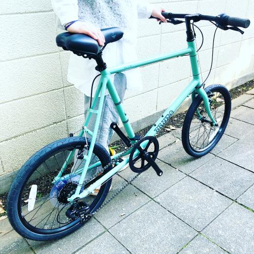BRUNO 2020モデル 『 MINIVELO 20 FLAT 』ブルーノ ミニベロ ミキスト おしゃれ自転車 自転車女子 自転車ガール ポタリング 20インチ_b0212032_14180876.jpeg