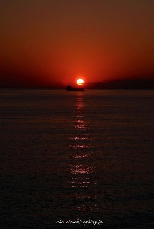 野母崎の夕陽_f0315034_16432812.jpg