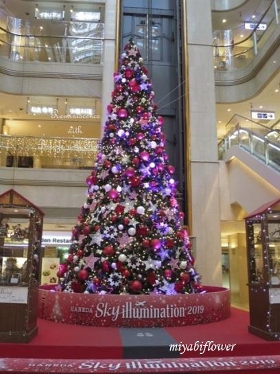 羽田空港のクリスマスツリー 2019_b0255144_09582872.jpg