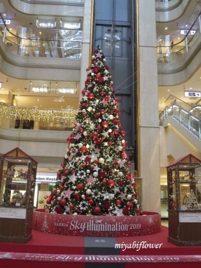 羽田空港のクリスマスツリー 2019_b0255144_10185461.jpg