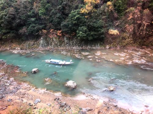 嵐山トロッコ列車_e0292546_03363317.jpg