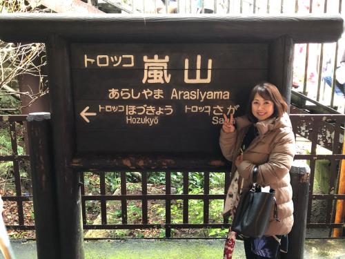 嵐山トロッコ列車_e0292546_03411763.jpg