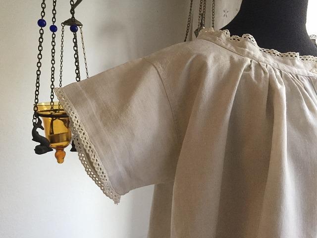 手織り麻の半袖ナイティ773    Hold(Okum.y12.18)_f0112550_05205566.jpg