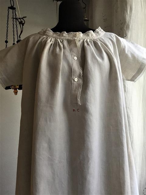 手織り麻の半袖ナイティ773    Hold(Okum.y12.18)_f0112550_05205587.jpg