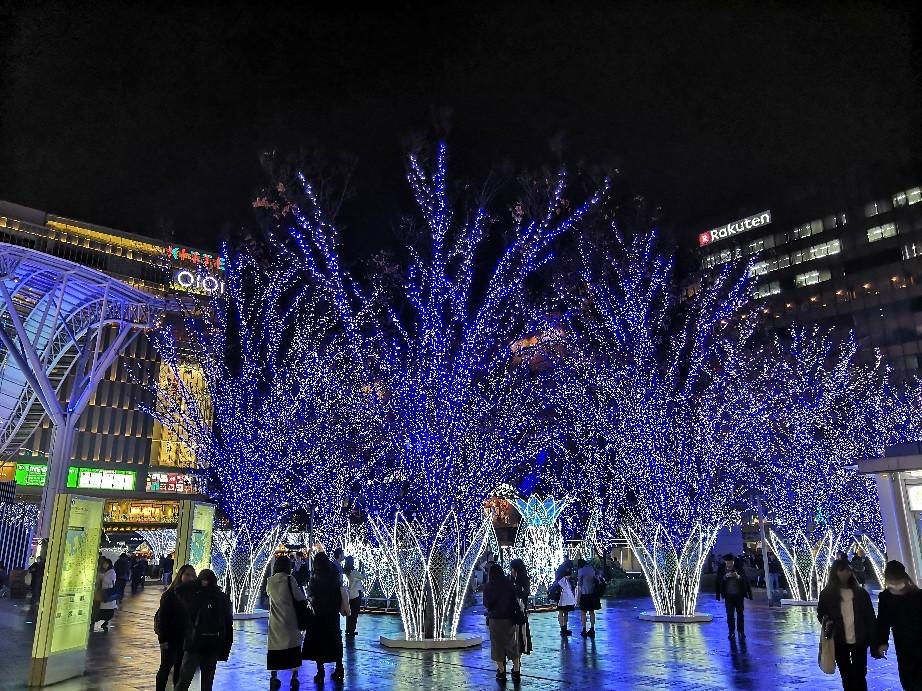 博多駅のイルミネーション~☆_a0004752_21283886.jpg