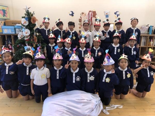 クリスマスの帽子は〇〇です_b0233868_17380289.jpeg