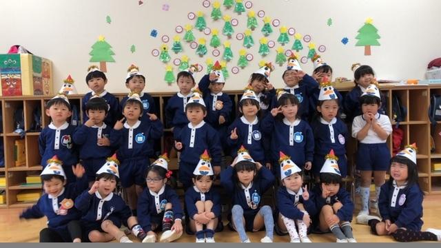 クリスマスの帽子は〇〇です_b0233868_17451785.jpeg