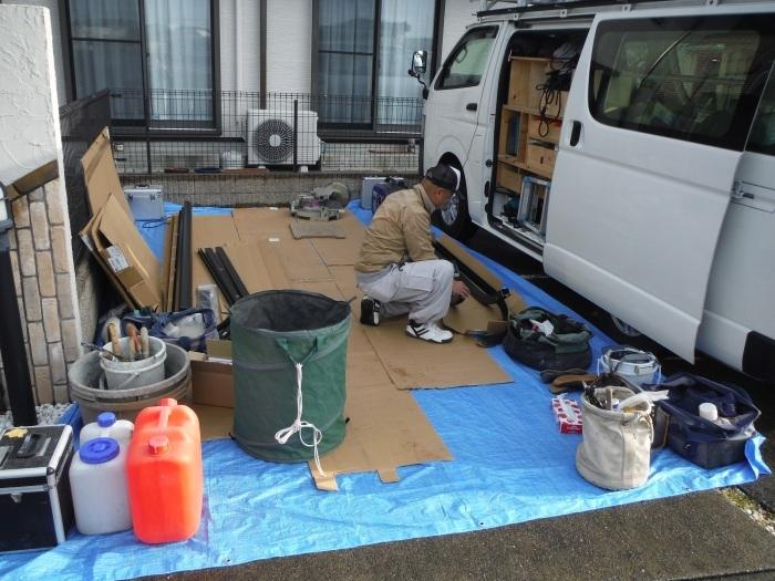 テラス屋根取替 ~ 新しいテラス屋根取付。_d0165368_02474601.jpg