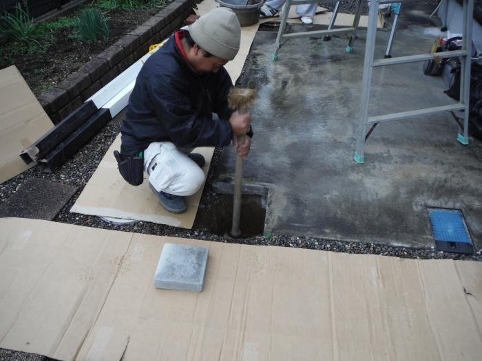 テラス屋根取替 ~ 新しいテラス屋根取付。_d0165368_02491986.jpg