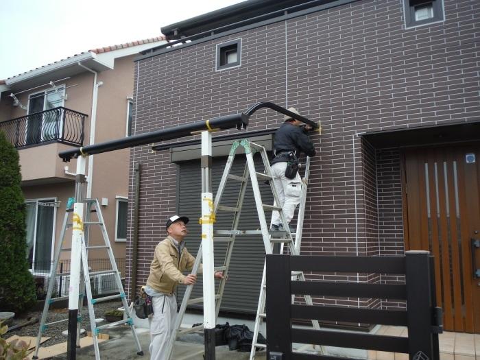 テラス屋根取替 ~ 新しいテラス屋根取付。_d0165368_02493734.jpg