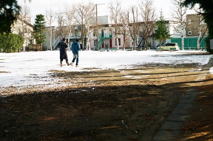 記録的に雪の無い師走_c0182775_1633336.jpg