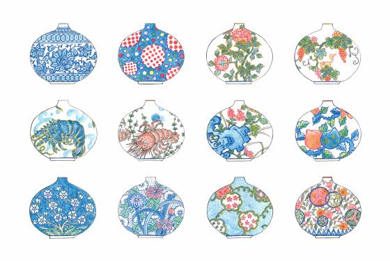 薪窯焼成花器 -デザイン画の公開-_b0289777_11140238.jpg