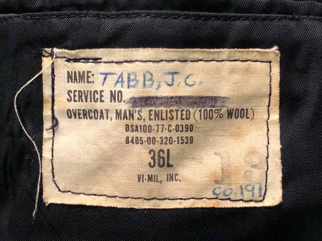 12月21日(土)大阪店スーペリア入荷!#2 Military Part2編!! U.S.Navy G-1 & P-Coat, FleeceJKT, MetroCamo!!_c0078587_1441215.jpg