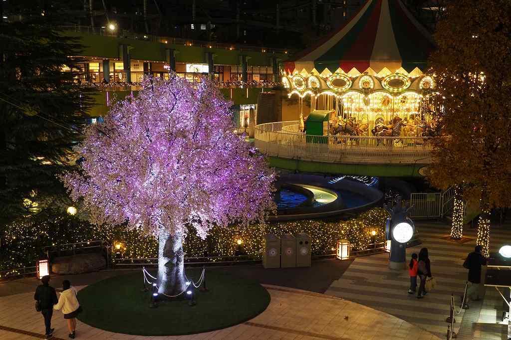 東京ドームシティのイルミネーション_e0348392_22173742.jpg