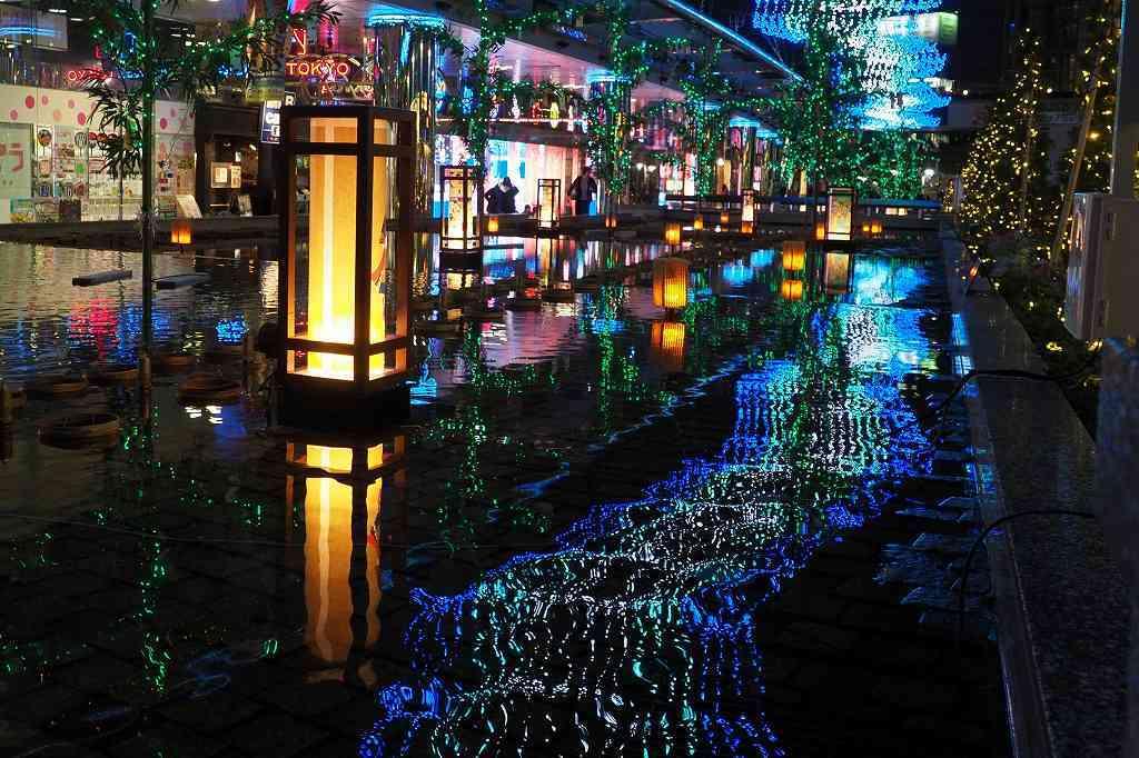 東京ドームシティのイルミネーション_e0348392_22180921.jpg