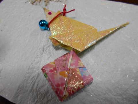 秋田のりんご&姉の折り紙_f0019498_19241814.jpg