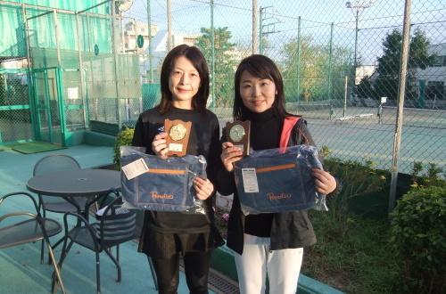 2019年12月18日(水)女子ダブルスオープントーナメント_b0158200_14541875.jpg