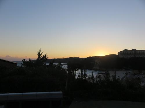 伊豆下田大和館から夕陽を拝む_c0075701_18010049.jpg