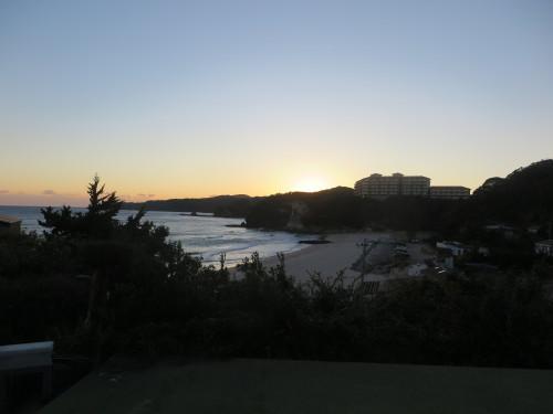 伊豆下田大和館から夕陽を拝む_c0075701_18013028.jpg