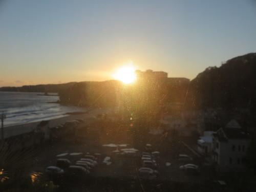 伊豆下田大和館から夕陽を拝む_c0075701_18015924.jpg