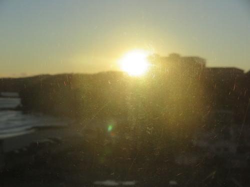 伊豆下田大和館から夕陽を拝む_c0075701_18021802.jpg
