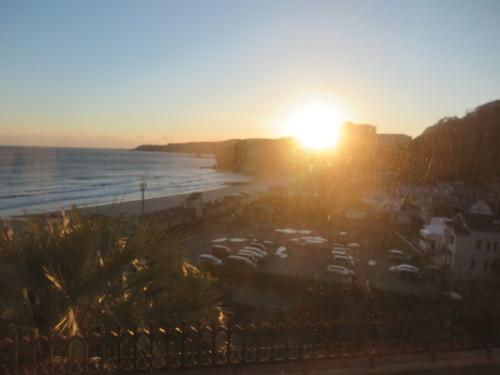 伊豆下田大和館から夕陽を拝む_c0075701_18022673.jpg