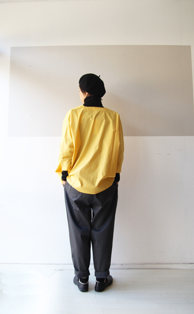 KEY NECK DROP SHOULDER SHIRT_f0215708_13325686.jpg