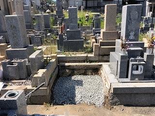 ◇お墓じまい(長田墓地)◇_e0363711_15533439.jpg
