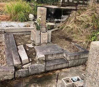 ◇墓じまい(長田墓地)◇_e0363711_16111033.jpg