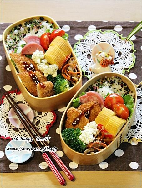 白身魚フライ弁当とおうちごはん♪_f0348032_18044262.jpg