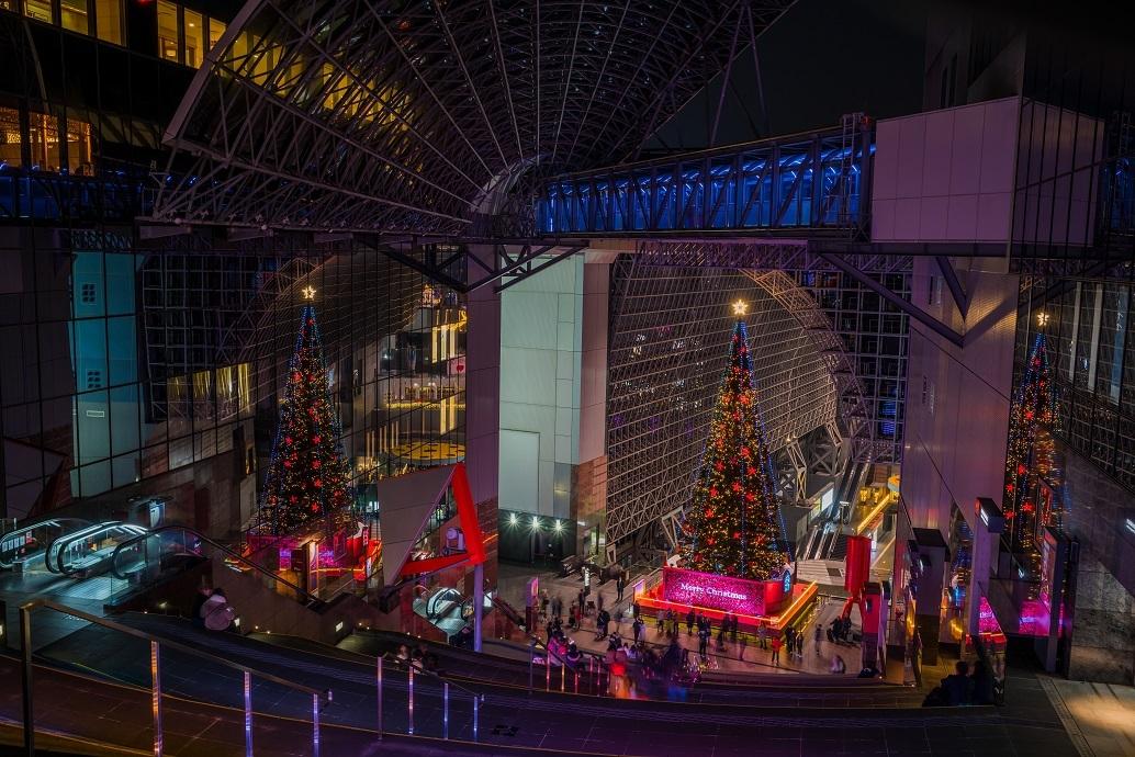 京都駅ビル 光のファンタジー2019①_e0363038_19150227.jpg