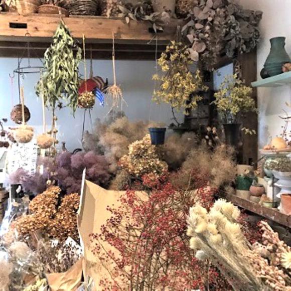 ハナロジさんからしめ飾りとドライフラワーが入荷 12.19 cocoa news_a0043747_17523252.jpg
