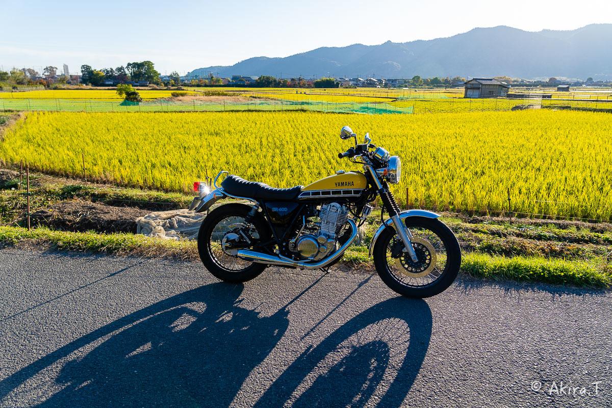 バイクは楽し!! YAMAHA SR400 -60-_f0152550_23242907.jpg
