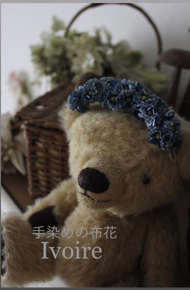 小花のヘアアクセサリー...♪*゚_f0372557_09392702.jpeg