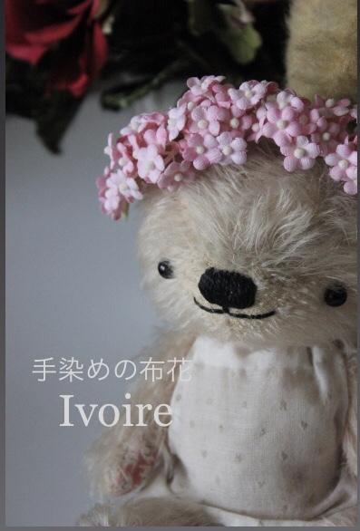 小花のヘアアクセサリー...♪*゚_f0372557_09394160.jpeg