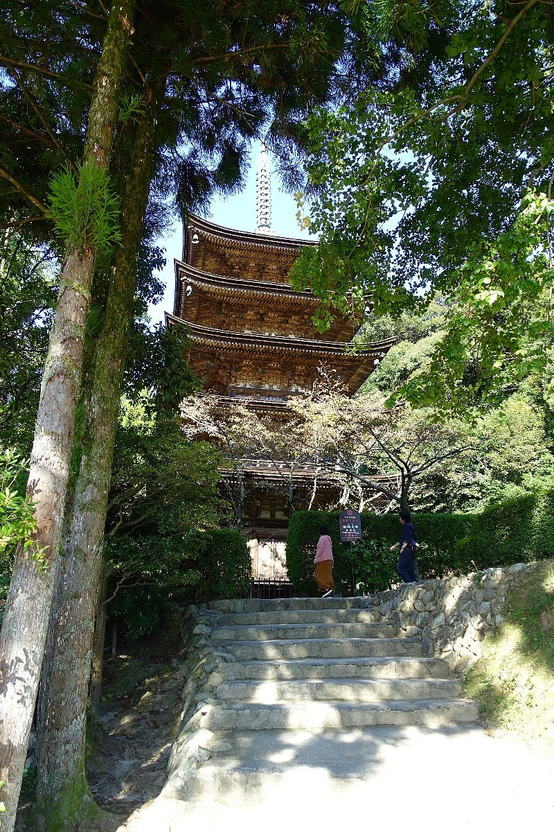 瑠璃光寺 五重塔と池泉庭園_c0112559_08211455.jpg