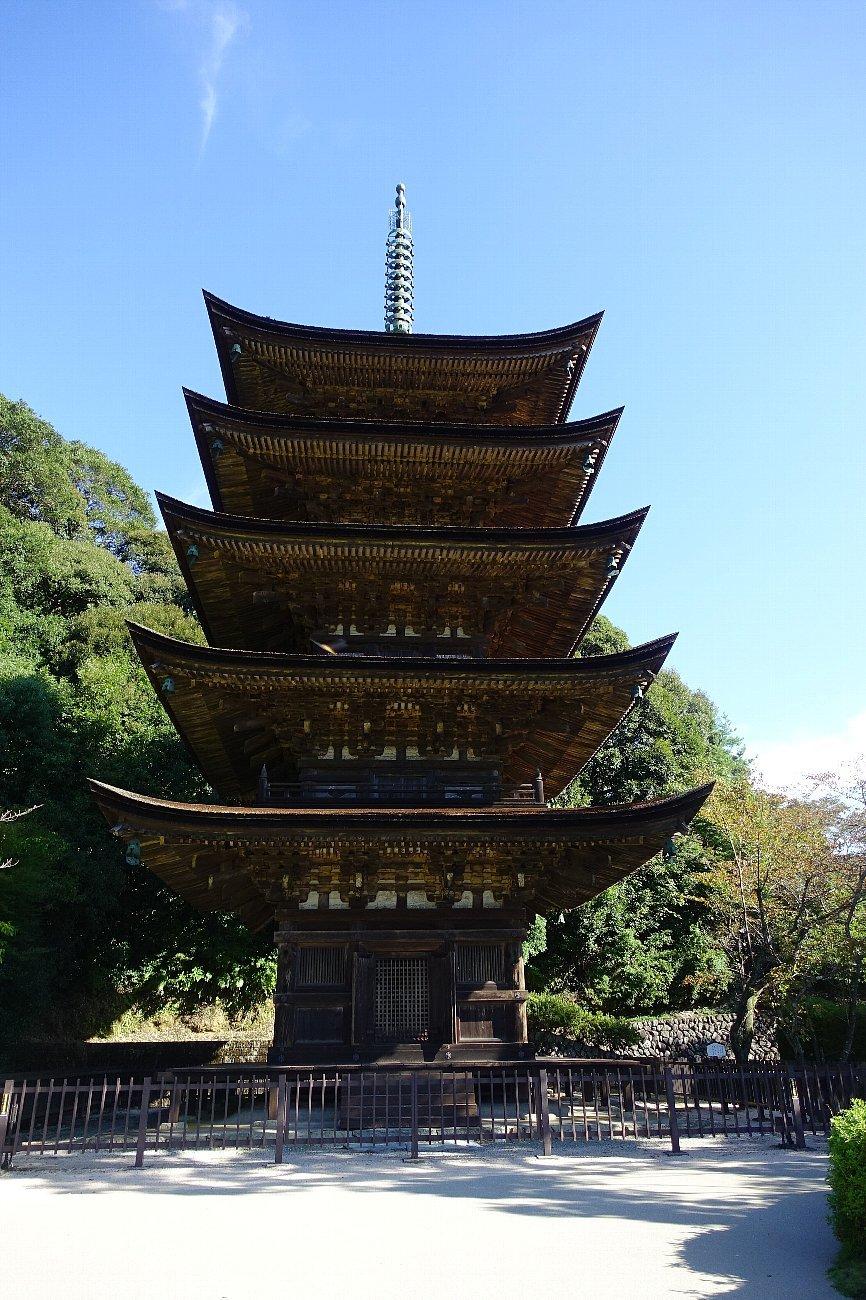 瑠璃光寺 五重塔と池泉庭園_c0112559_08225998.jpg