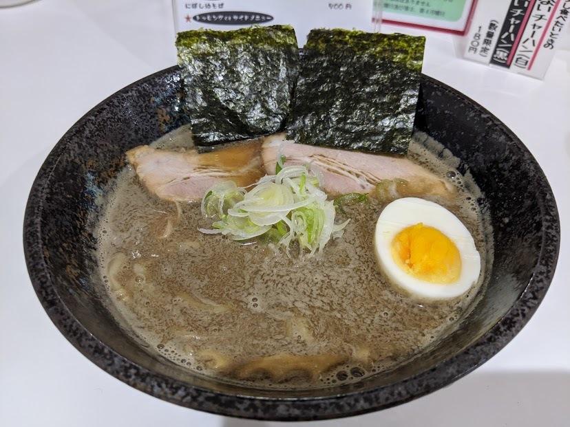 札幌 煮干 し ラーメン