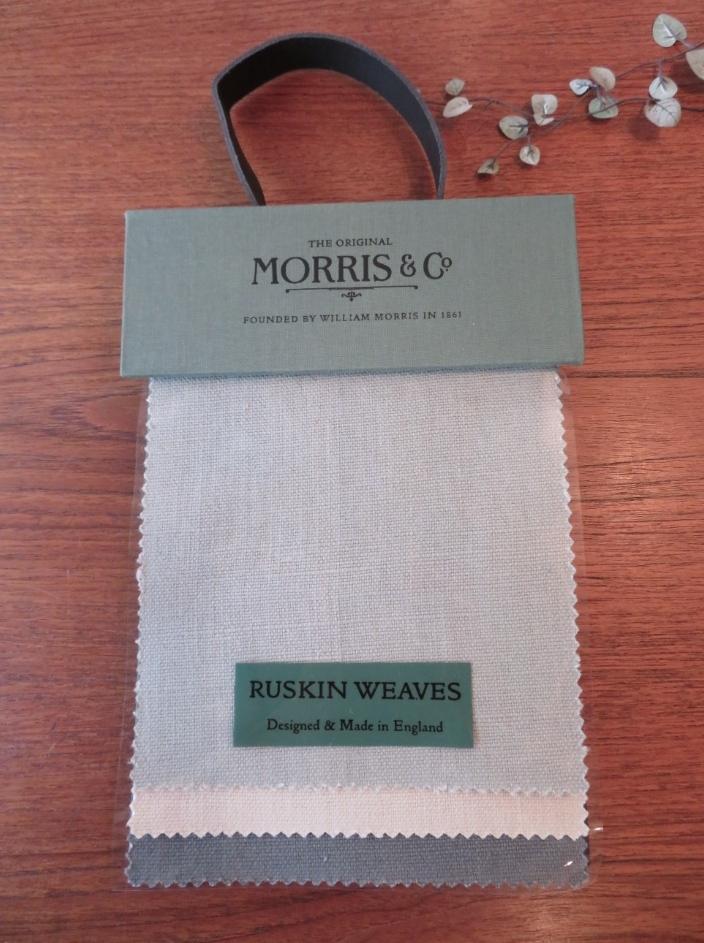 モリスの無地 『ラスキン』 モリス正規販売店のブライト_c0157866_20242387.jpg