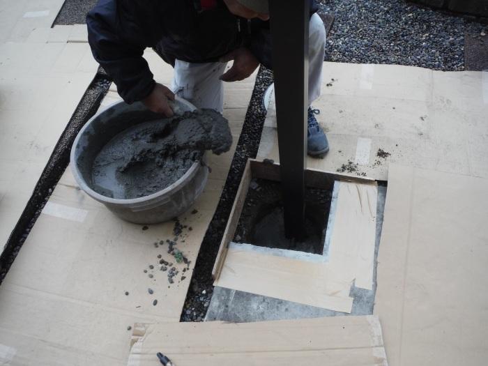 テラス屋根取替 ~ 工事終了です。_d0165368_05124670.jpg