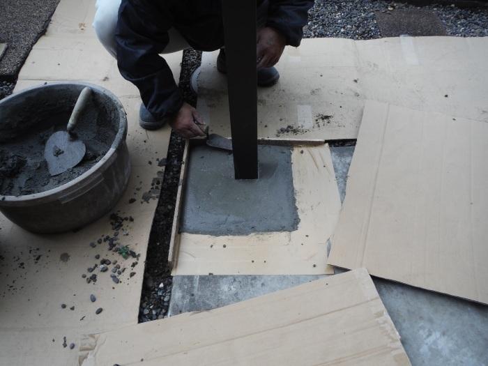 テラス屋根取替 ~ 工事終了です。_d0165368_05130435.jpg