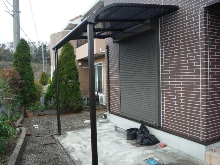 テラス屋根取替 ~ 工事終了です。_d0165368_05131892.jpg