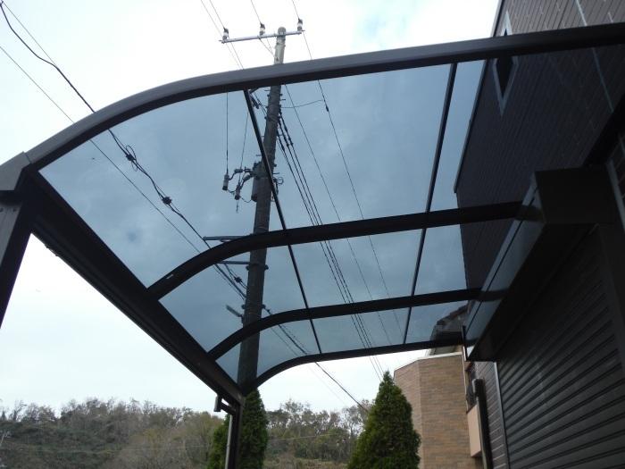 テラス屋根取替 ~ 工事終了です。_d0165368_05140100.jpg