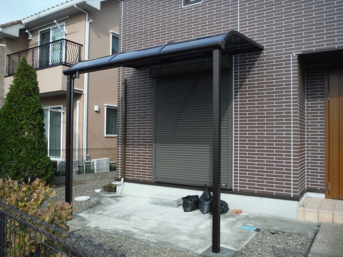 テラス屋根取替 ~ 工事終了です。_d0165368_05143566.jpg