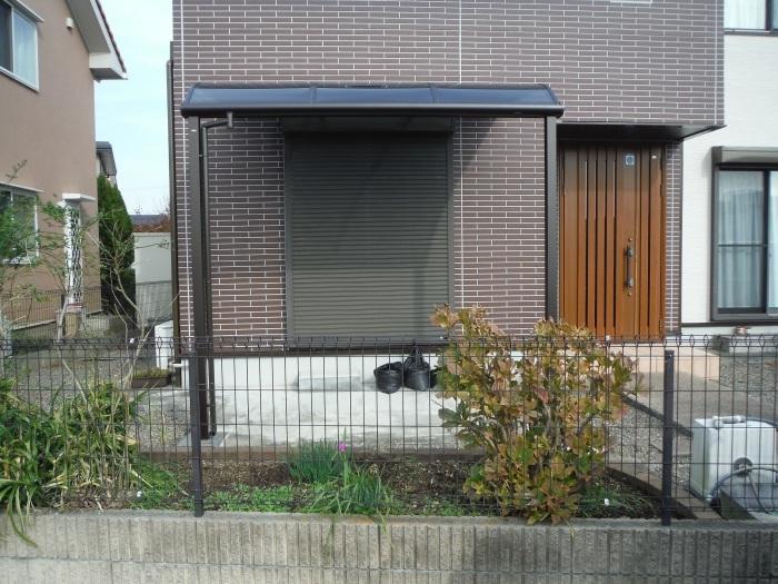 テラス屋根取替 ~ 工事終了です。_d0165368_05144919.jpg