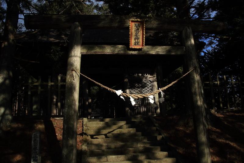 今朝の早池峯神社_f0075075_13074603.jpg